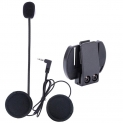 Wired Headset Mic/Speaker for V4/V6 Motorcycle Bluetooth Helmet Intercom with Clip Intercomunicador Moto Accessories
