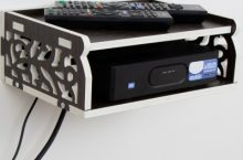 Only at Rs. 319 Set Top Box Holder Cum Remote