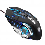 Xmate Zorro LED Backlight Wired USB Gaming Mouse