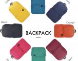 Xiaomi Trendy Solid Color Lightweight Water-resistant Backpack – BLACK