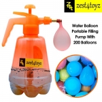 Zest 4 Toyz Holi Water Balloon Pumping Station with 200 Water Balloons